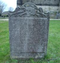 Gravestone Northside Chichester Cathedral