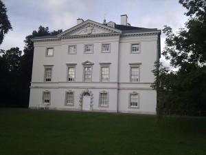 Marble Hill House: River Aspect