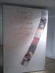 Material strip 1767 Foundling Museum