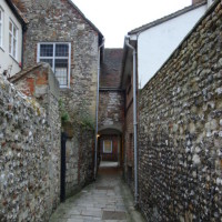 The Dark Cloister, Chichester Cathedral Close