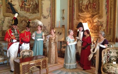 Regency Dancers at Goodwood's Waterloo Exhibition