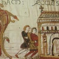 Bayeux Tapestry depicting Bosham Church